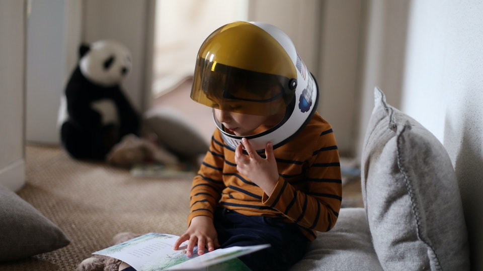 Kids reading can feel their own sense of adventure.