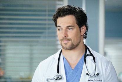 Giacomo Gianniotti plays Dr. Andrew DeLuca on 'Grey's Anatomy'