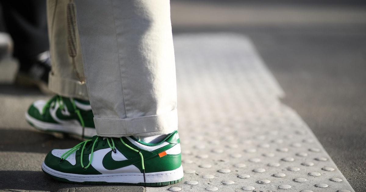 The sneaker market is in free-fall