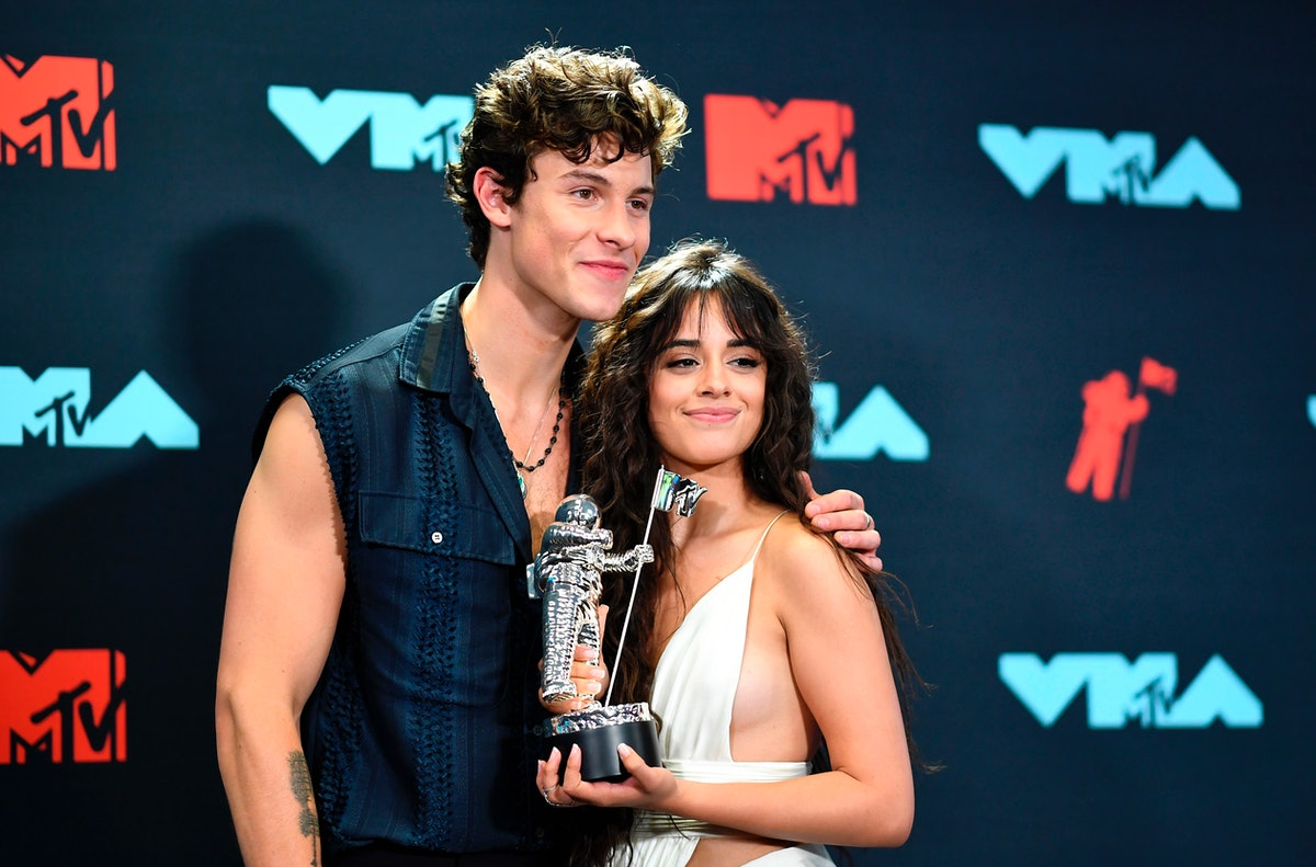 """Shawn Mendes & Camila Cabello's cover of Ed Sheeran's """"Kiss Me"""" is the sweetest thing."""