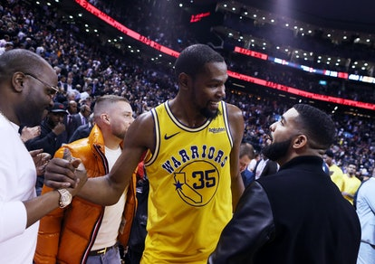 Drake tested negative for coronavirus after spending time with Kevin Durant