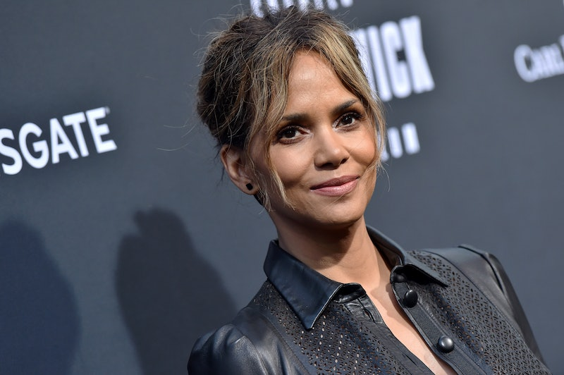 Halle Berry's four step facial routine