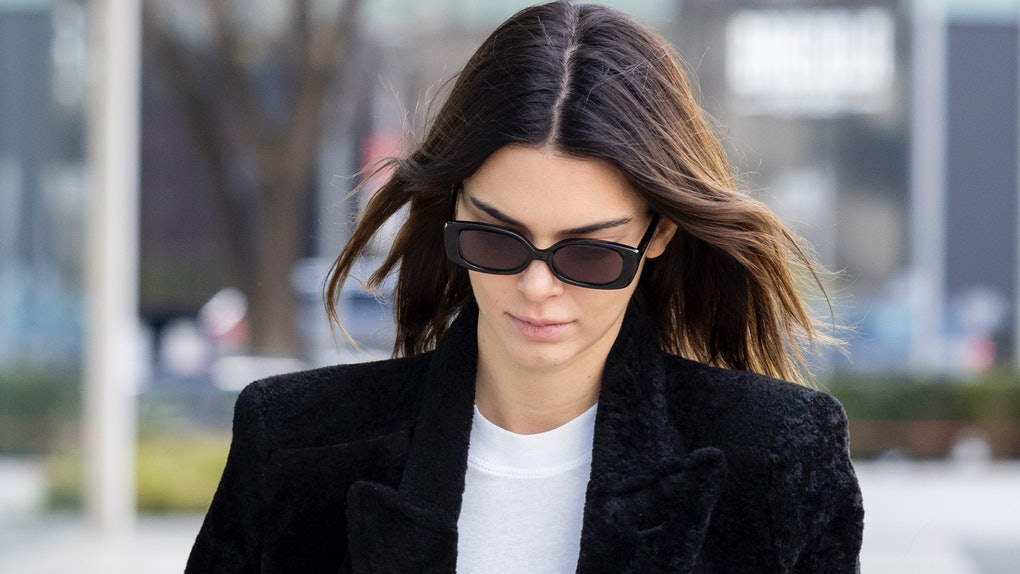 Kendall Jenner steps out for a stroll.