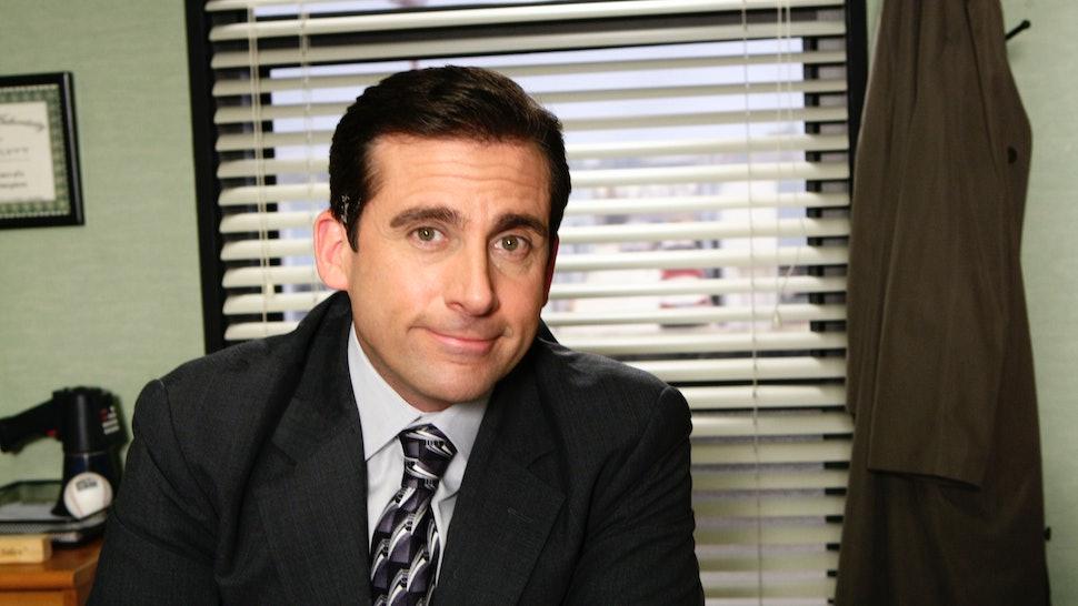 Steve Carell as Michael Scott on NBC's 'The Office'