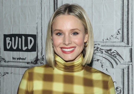 Kristen Bell's daughter Delta proudly announced she found the vaccine for the coronavirus.