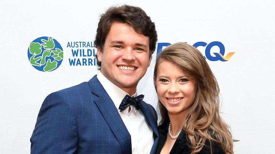 Bindi Irwin married her boyfriend on Wednesday.