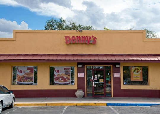a denny's storefront
