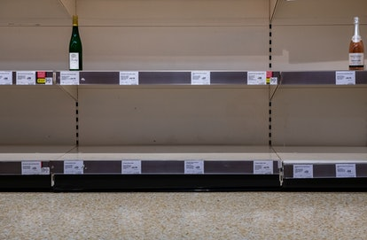 Wine options may be limited as certain stores during the coronavirus outbreak.