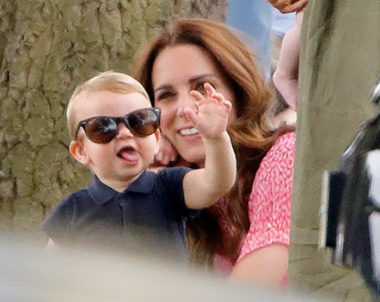Kate Middleton and Prince William shared a new video of Prince Louis clapping alongside Prince Georg...
