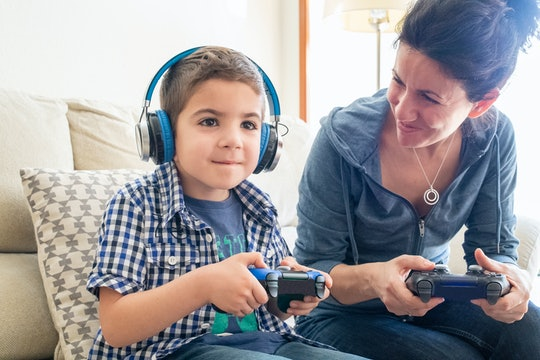 Experts say practicing problem-solving skills and concentration can be benefits of playing video gam...