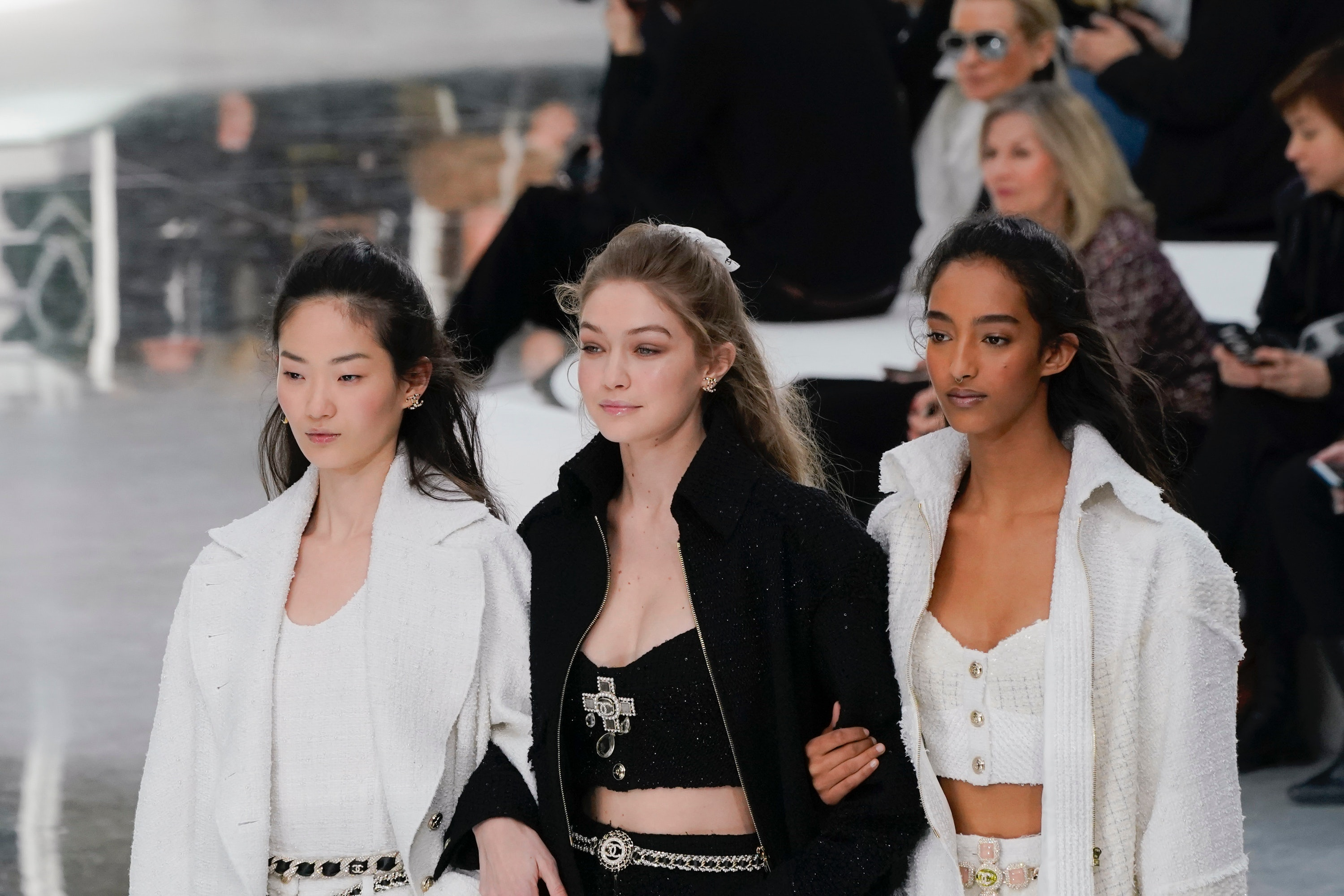 Chanel Closes Paris Fashion Week Fall 2020 With The Dreamiest Second Day Hairstyle