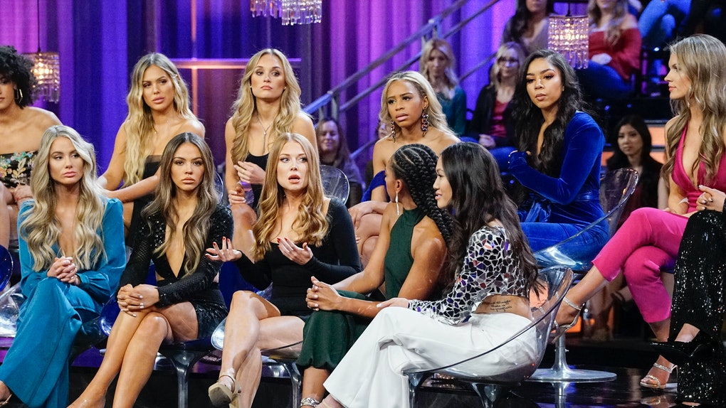 """'Bachelor' contestants at the """"Women Tell All"""""""