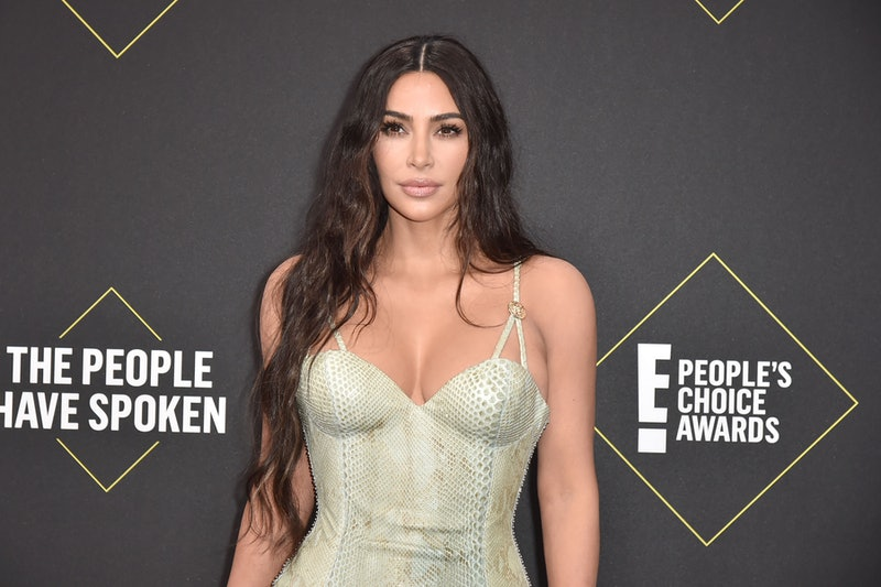 Kim Kardashian's everyday, all natural makeup routine is full of contouring and highlighter