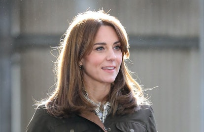 Kate Middleton's hair is perfect for spring.