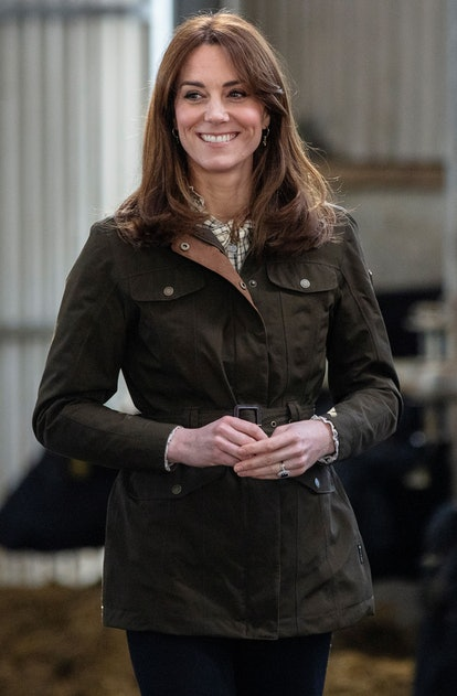 Kate Middleton's New Curtain Bangs