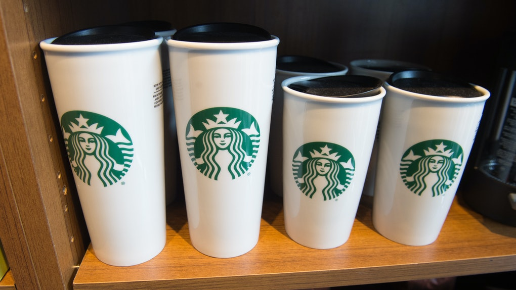 Starbucks' personal cup Coronavirus policy means you can bring in your cup, but you can't use it.