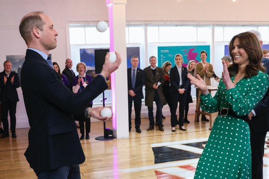 Prince William has a special skill to keep his kids entertained.