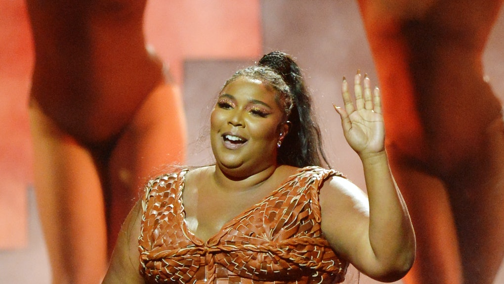 Lizzo performs live.