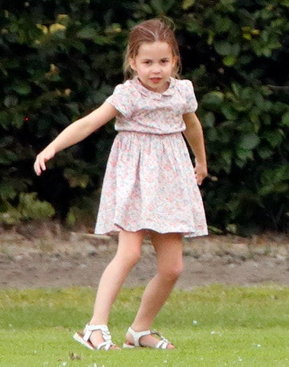 Princess Charlotte has gotten into gymnastics recently, according to mom Kate Middleton.