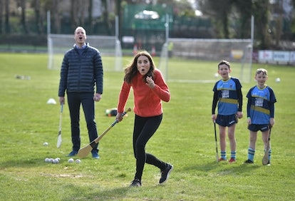 Kate Middleton chose an ethical Really Wild jumper for a sporting Galway event
