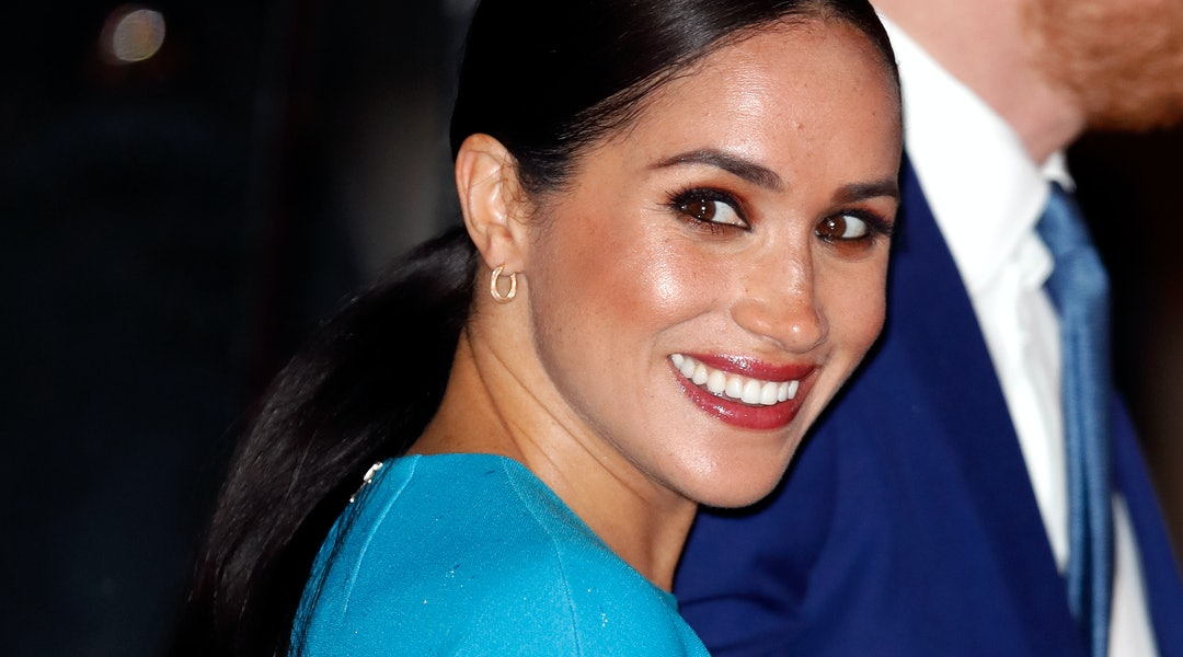 Meghan Markle's long, low ponytail is one of 2020's trendiest hairstyles