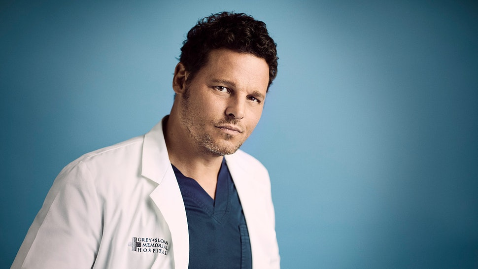 There was no new footage of Justin Chamber in Alex Karev's farewell 'Grey's Anatomy' episode.