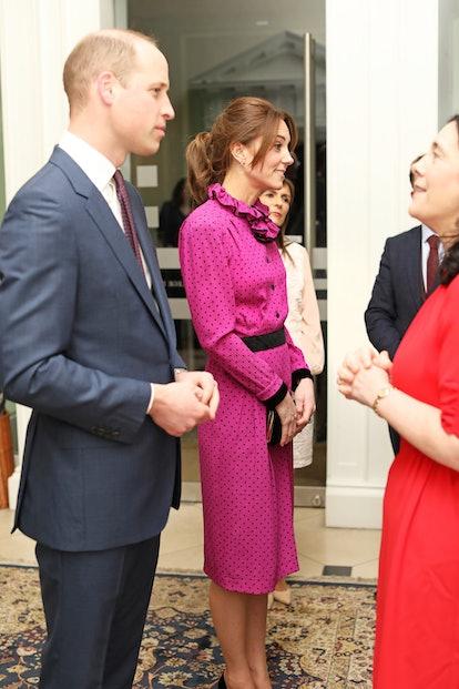 Kate Middleton donned a vintage Oscar de la Renta dress on her Irish royal tour