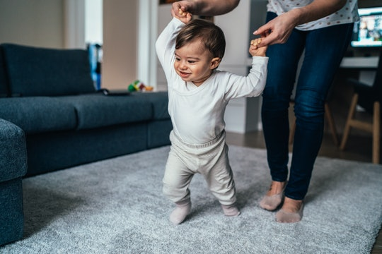 If your baby skips crawling and goes straight to walking, it really doesn't mean much, according to experts.