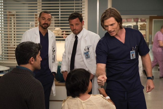 Actors Jesse Williams, Justin Chambers, and Chris Carmack on 'Grey's Anatomy'