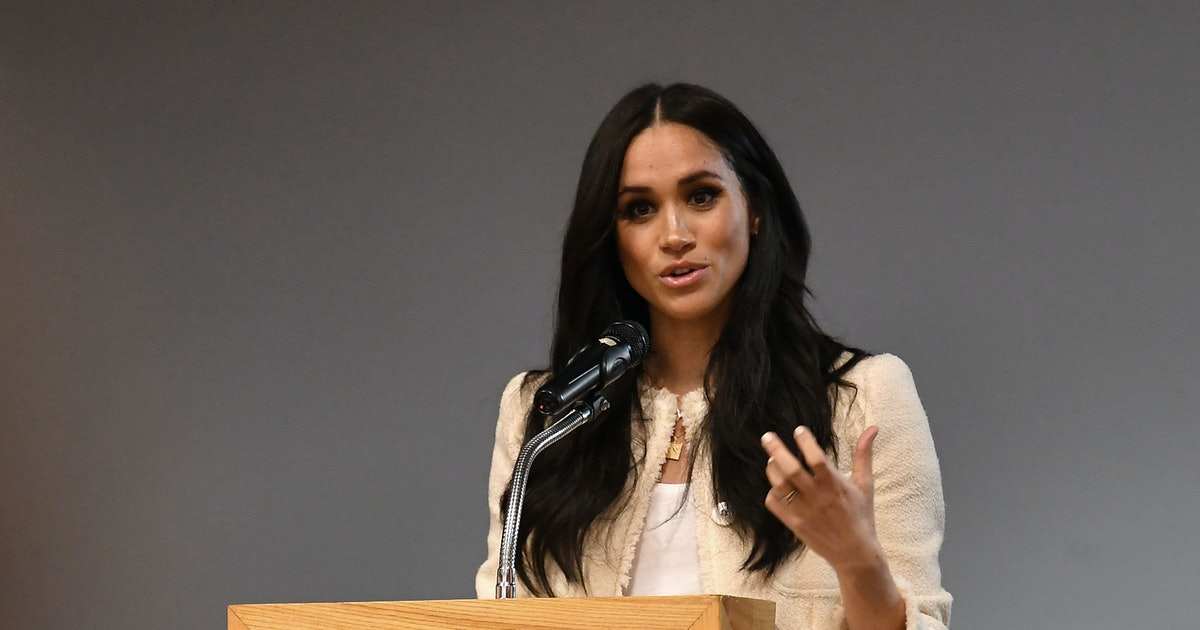 """Meghan Markle Says International Women's Day Is About """"All Of Us"""" In Speech"""