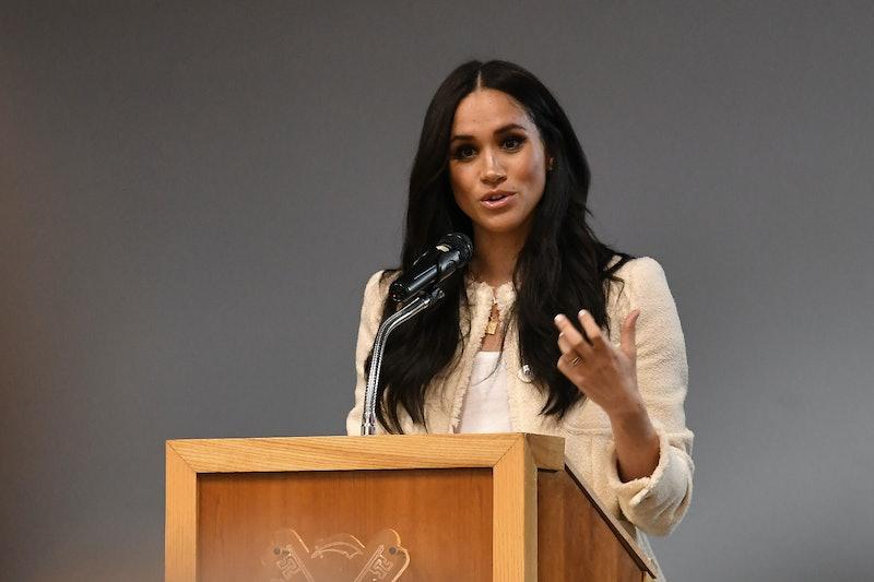 Meghan Markle's Women's Day Speech On Gender Parity Calls On Men, Too