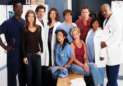 The original cast of 'Grey's Anatomy.'