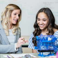 A teacher has created a STEMinist curriculum for primary schools, focusing on female scientists