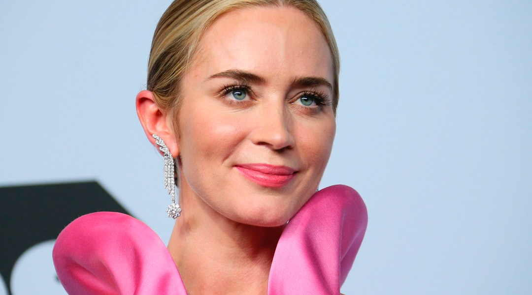 Emily Blunt's makeup at 'The Quiet Place II' premiere.