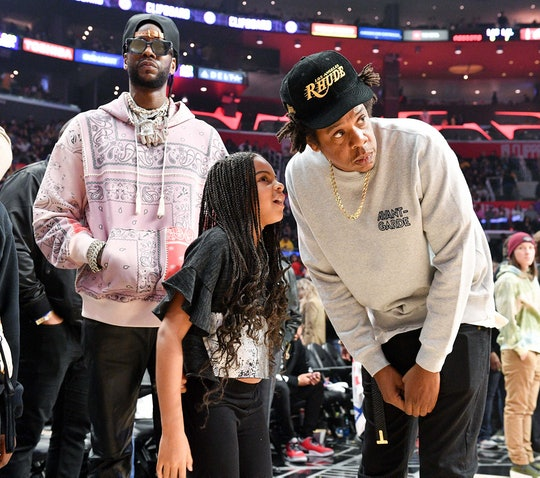 Blue Ivy met LeBron James and it was too sweet