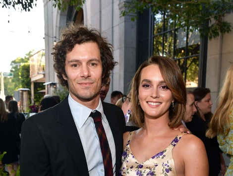 Leighton Meester & Adam Brody are reportedly expecting their second child