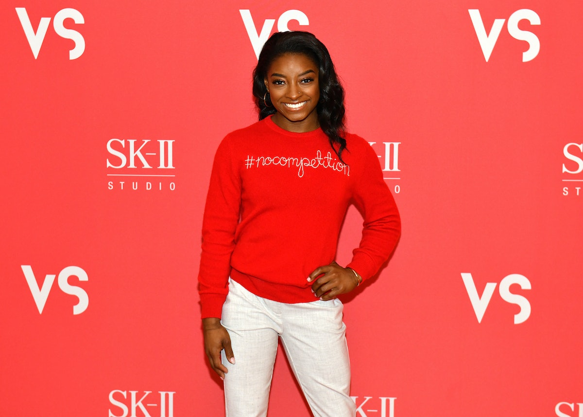 """Simone Biles' reaction to the 2020 Olympics postponement called it the """"right decision."""""""