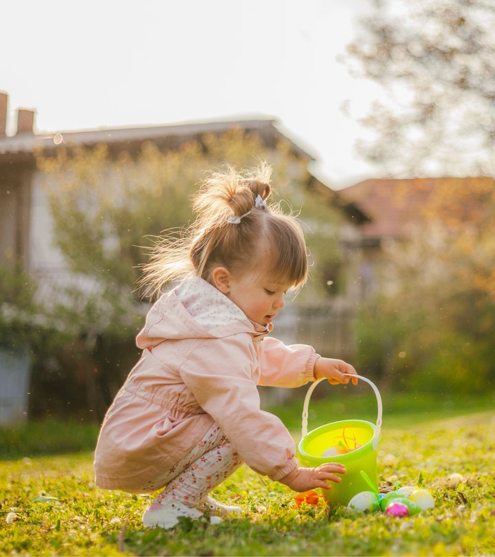 These toddler Easter egg hunts are more novel and unique than a traditional search.