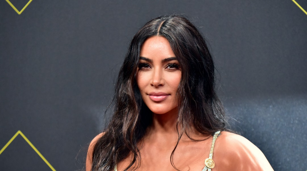 Kim Kardashian just posted a work-from-home makeup routine to keep you busy this weekend