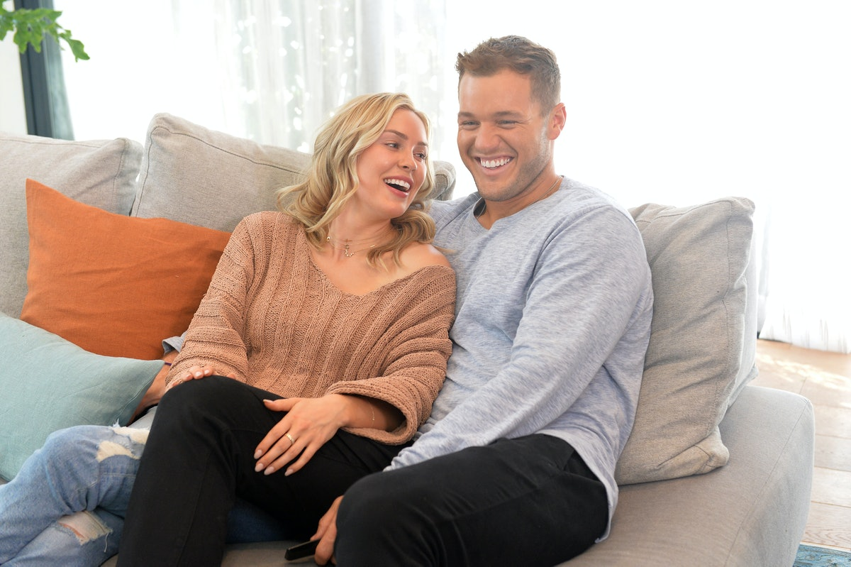 Cassie Randolph cut Colton Underwood's hair, and 'The Bachelor' star documented the whole mishap on social media.