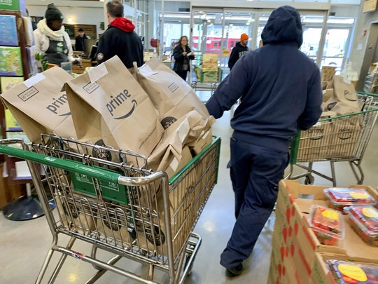 Amazon announced Sunday that, in an effort to meet increased demand for grocery delivery during the ongoing coronavirus pandemic, new Amazon Fresh and Whole Foods Market delivery and pickup customers would be placed on a waitlist.