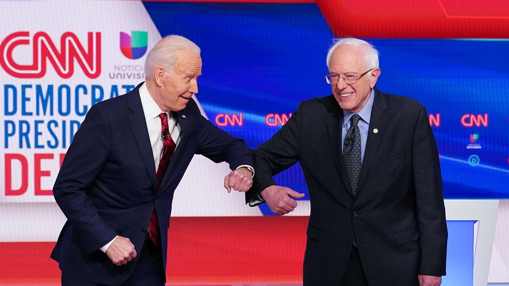 These tweets about Bernie Sanders' endorsement of Joe Biden come after the Senator endorsed his former rival.
