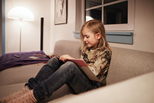 Reading books is a summer activity kids can do at home.