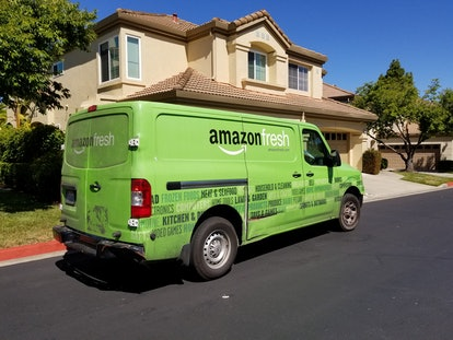 Amazon announced Sunday that, in an effort to meet increased demand for grocery delivery, new Amazon Fresh and Whole Foods Market delivery and pickup customers would be placed on a waitlist.