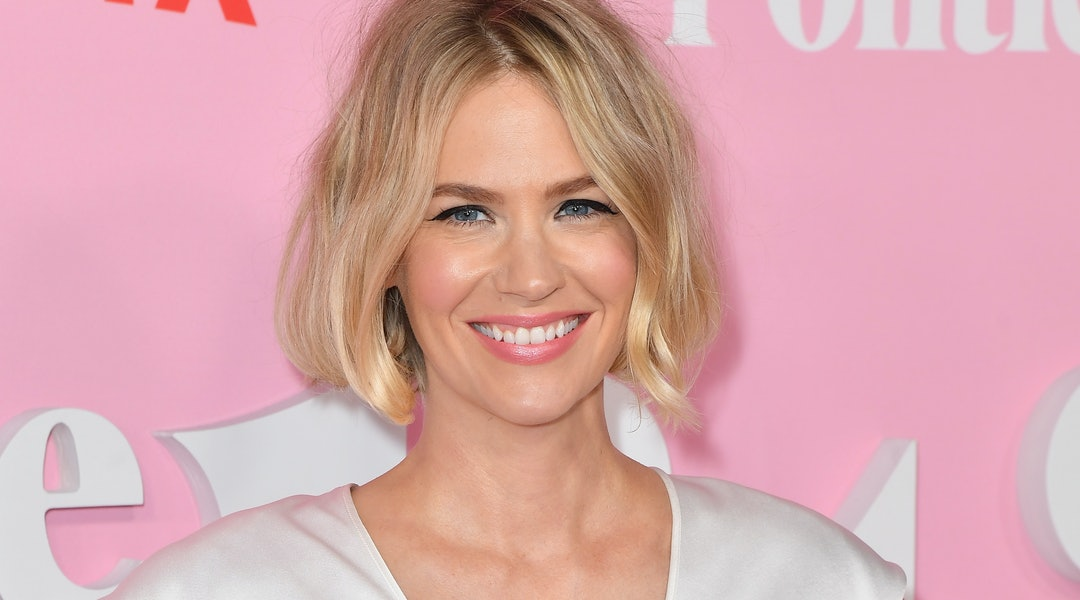 January Jones has been sharing multiple videos on Instagram featuring every type of skincare face mask, from mud formulas to LED masks.