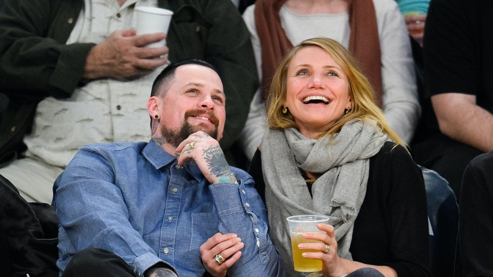 Cameron Diaz and Benji Madden love being parents.