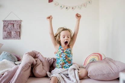 Your kid's extra energy first thing in the morning is causing them to wake up early during quarantine.