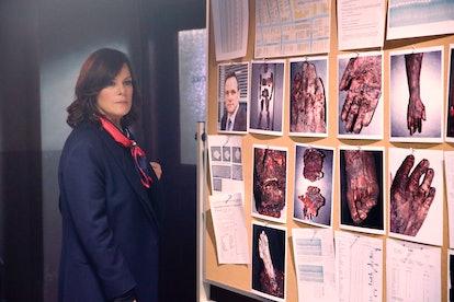 Marcia Gay Harden as Hannah Keating on 'HTGAWM'