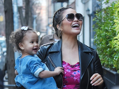 Chrissy Teigen shared a hilarious photo of herself with daughter Luna.