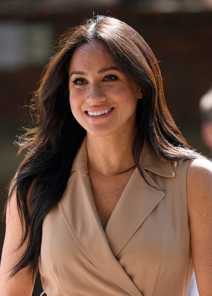 Meghan Markle's best hairstyles include these bouncy barrel curls